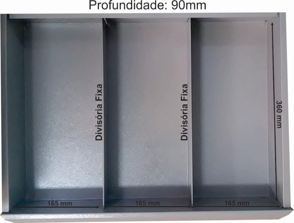 gaveta-carrinho-2-divisorias-360-x-90mm-profundiade