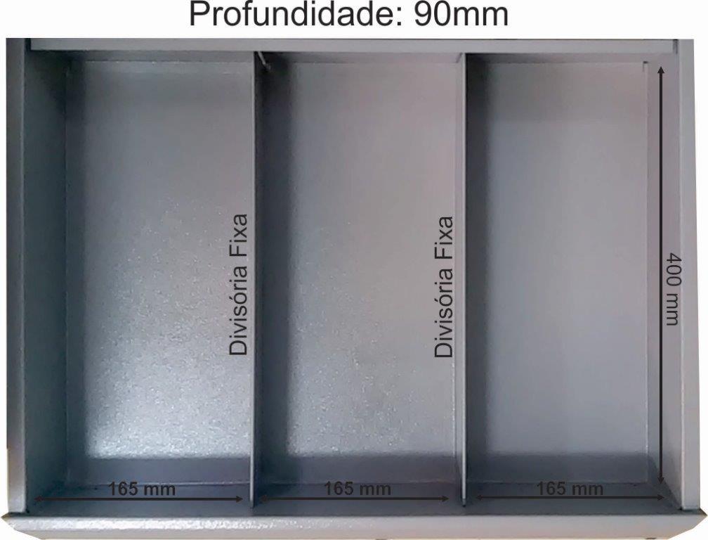 gaveta-carrinho-2-divisorias-90mm-profundiade